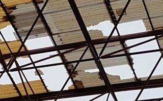 Hiszpania: Silny wiatr uszkodził dwa stadiony