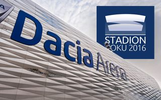 Stadion Roku 2016: Powód 7 – Dacia Arena