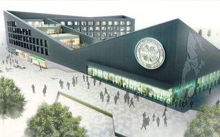 Glasgow: Celtic pokazał plan hotelu, sklepu i muzeum