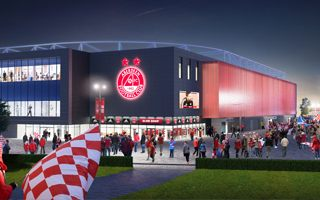 Szkocja: Nowy stadion Aberdeen podzielił mieszkańców
