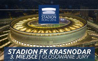 Stadion Roku 2016: 3. Miejsce Jury – Stadion FK Krasnodar