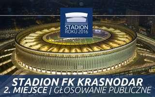 Stadion Roku 2016: 2. Miejsce Publiczności – Stadion FK Krasnodar