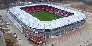 Nowy stadion: Wielkie otwarcie w czwartej lidze
