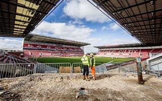 Stoke: Nowy narożnik bet365 Stadium już w budowie