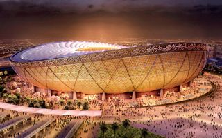 Katar 2022: Arena finału oficjalnie w budowie