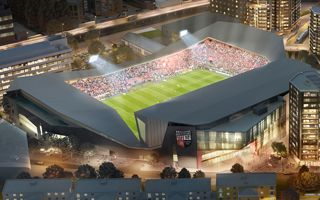 Londyn: Teren pod stadion Brentford prawie oczyszczony