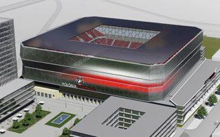 Warszawa: Tak będzie wyglądał stadion Polonii?
