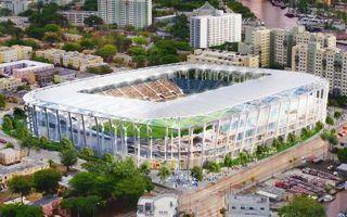 Miami: Beckham pokazuje nowy projekt stadionu