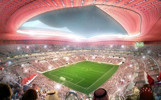 Katar: Al Bayt Stadium osiąga kluczowy cel