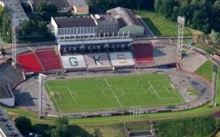 Jastrzębie-Zdrój: Doraźne zmiany na stadionie GKS