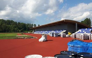 Ruda Śląska: Ostatnie dni budowy stadionu