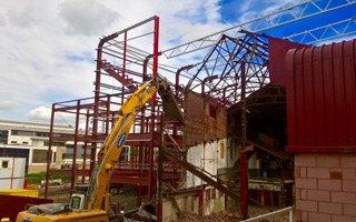 Nowa budowa: Zobacz, jak rośnie Tynecastle