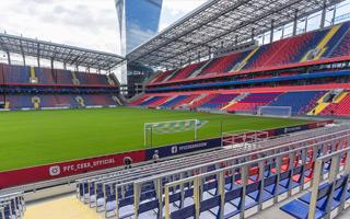 Moskwa: Stadion CSKA pięknieje, ale wiele do zrobienia