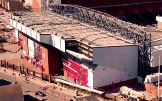 Liverpool: Najsłynniejsza trybuna rośnie tego lata