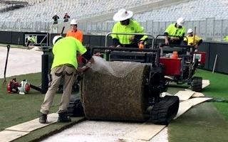 Australia: Stadion w Perth już z boiskiem