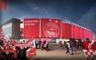 Szkocja: Celtic i Hearts wspierają projekt stadionu Aberdeen