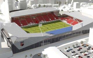 Londyn: Stadion Brentford mniejszy i później