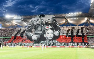Europejskie puchary: Legia zapłaci UEFA, ćwierć miliona dla powstańców