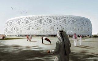 Nowy projekt: Stadion jak koronkowe nakrycie głowy