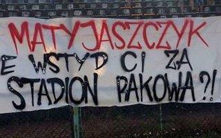 Częstochowa: Cała Polska upomina się o stadion Rakowa