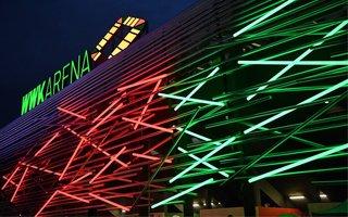 Augsburg: WWK Arena rozbłysła po raz pierwszy