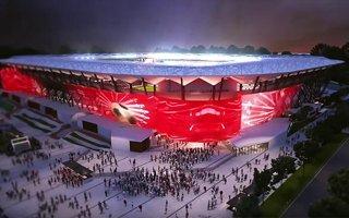 Sydney: Najbardziej stromy stadion Australii oficjalnie w budowie