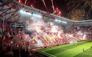 Kalifornia: Tak się konsultuje klimat przyszłego stadionu
