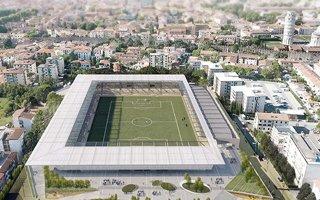 Nowy stadion i projekt: W cieniu Krzywej Wieży