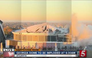 Atlanta: Georgia Dome zrównany z ziemią