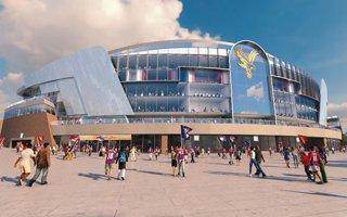 Nowy projekt: Stadion Crystal Palace bardziej kryształowy