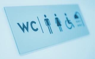 Wandaloodporne wyposażenie toalety publicznej