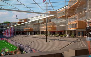 Nowy projekt: Stadion am Zoo