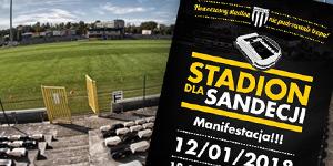 Nowy Sącz: Mniejszy stadion dla Sandecji?