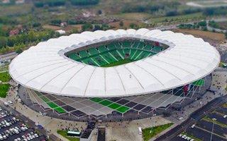 Nowy stadion: Tańczący kapelusz z Sakaryi