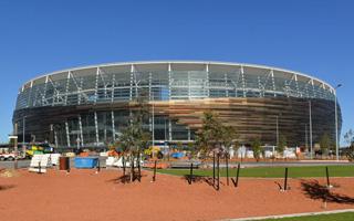 Nowy stadion: Australijski rekordzista