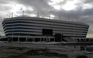 Kaliningrad: Mecz otwarcia odwołany z obaw o murawę