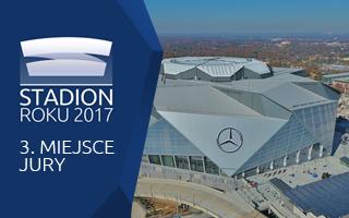 Stadion Roku 2017: 3. Miejsce Jury – Mercedes-Benz Stadium