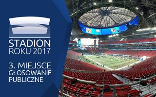 Stadion Roku 2017: Głosowanie Publiczne – 3. Mercedes-Benz Stadium