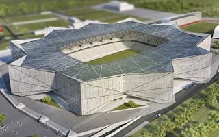 Nowy projekt: Gwiaździsty stadion Steauy