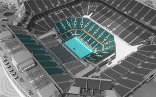 Miami: Hard Rock Stadium zamieni się w kort tenisowy