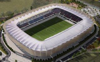 Nowy projekt: Kryty drewnem stadion w Los Angeles