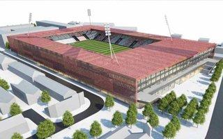 Nowy projekt: Drugi nowoczesny stadion dla Dublina