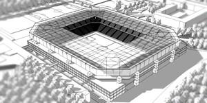 Berlin: Hertha pokazuje korektę przyszłego stadionu