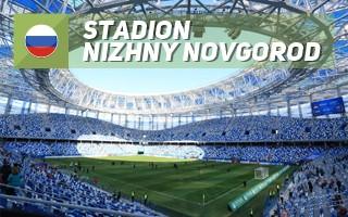 Nowy stadion: Wir w Niżnym Nowogrodzie