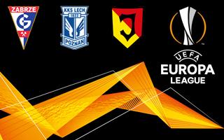 Liga Europy: Oto rywale Górnika, Jagiellonii i Lecha