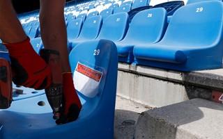 Madryt: Ruszyło usuwanie krzesełek z Calderón