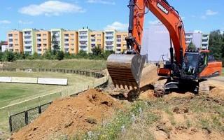 Bytom: Znika stadion Ruchu Radzionków