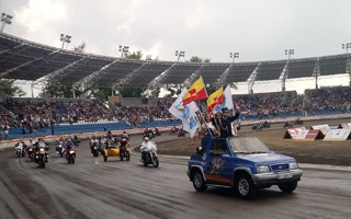 Łódź: Otwarcie stadionu Orła na raty