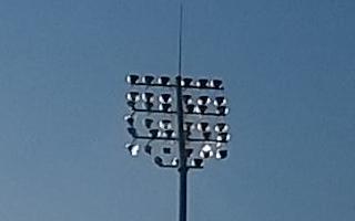 Elbląg: Lampy przetestowane, w sobotę pierwszy mecz