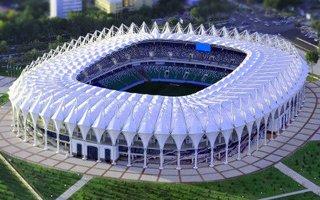 Uzbekistan: Stadion piękny. Gorzej, że pusty